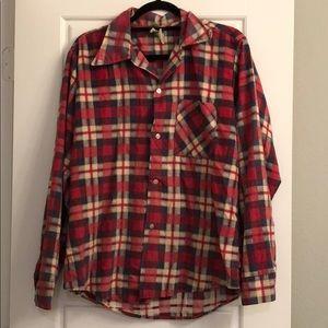 OU vintage flannel